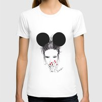 minnie T-shirts featuring Minnie Mouse by Bella Harris