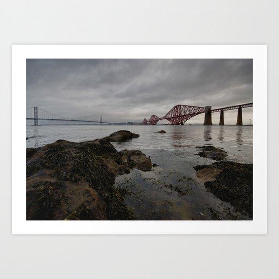 The Forth Bridge Art Print