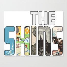 Shins Album Logo Canvas Print
