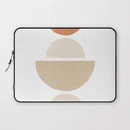 Balancing Shapes Boho Style | Burnt Orange Laptop Sleeve