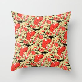 Jeepster_1 Throw Pillow