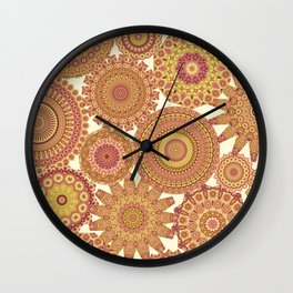 Millefiori Karma-Canyon colorway Wall Clock