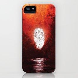 Shangri La Tiger iPhone Case
