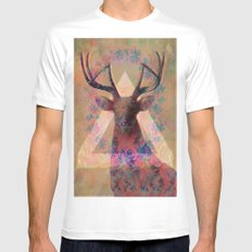 Wild Side  Mens Fitted Tee MEDIUM White