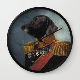 General Pup Wall Clock
