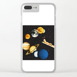 Planetary dream Clear iPhone Case
