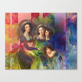 Rainbow Silks Canvas Print