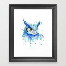 Color Hedwig  Framed Art Print