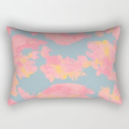 Abstract acrylic stains seamless pattern Rectangular Pillow