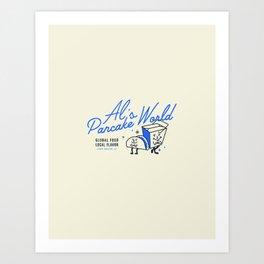 Al's Pancake World Art Print