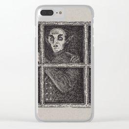 Nosferatu Clear iPhone Case