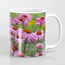 Pink echinacea garden Coffee Mug