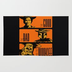 The Good, the bad and the wookiee Rug