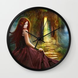 Knock At The Door, Redeux Wall Clock