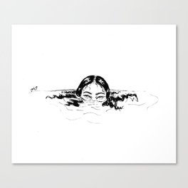 Mysterious Canvas Print
