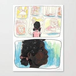 Pretty Girl Canvas Print