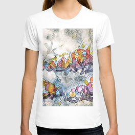 Splashes Of Stained Glass by CheyAnne Sexton T-shirt
