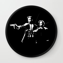 The X-Fiction Wall Clock