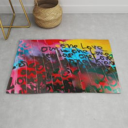 Color Me In Love Rug