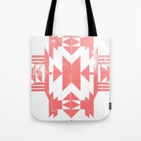 tribal Tote Bags featuring Tribal by Molnár Roland