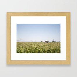 Central Valley Framed Art Print