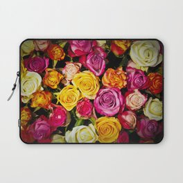 Real roses pattern Laptop Sleeve