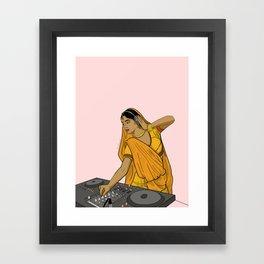 Dj Rani Framed Art Print