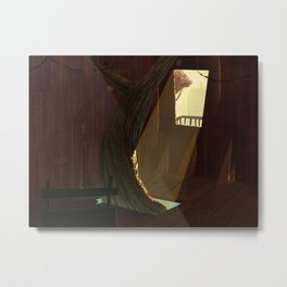 treehouse Metal Print
