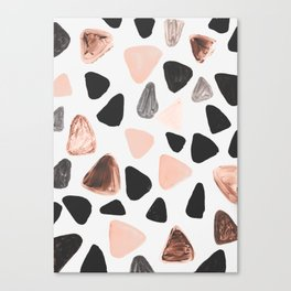 Rounded Triangles Canvas Print
