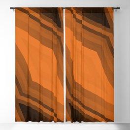 stripes wave pattern 6v3 wbi Blackout Curtain