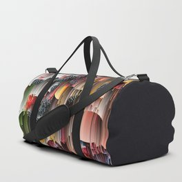 strawberries and berries abstract digital art Duffle Bag
