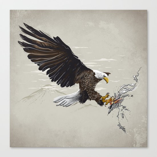 Air Fighter Canvas Print