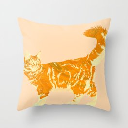 Maine Coon Me Throw Pillow