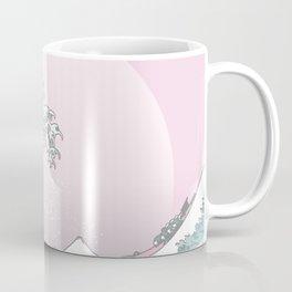 Great Wave Pastel Coffee Mug