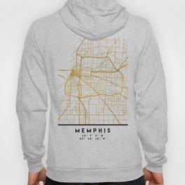 MEMPHIS TENNESSEE CITY STREET MAP ART Hoody