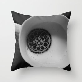 twist. lick. dunk. Throw Pillow