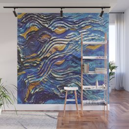 Abstract nautical background Wall Mural