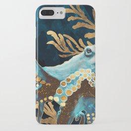 Indigo Octopus iPhone Case