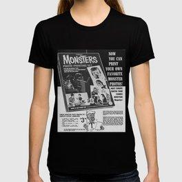 Printable Monsters T-shirt