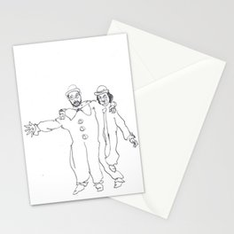 Clown Parents Stationery Cards
