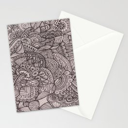 Doodle 8 Stationery Cards