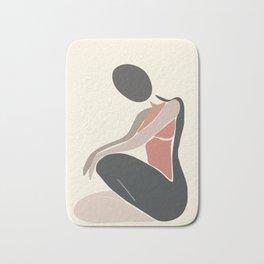 Woman Form I Bath Mat