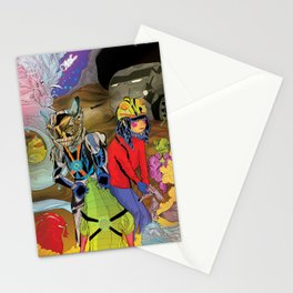 Living In a World of Monsters Stationery Cards
