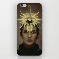 cassandra jean iPhone & iPod Skins featuring cassandra pentaghast by lgions