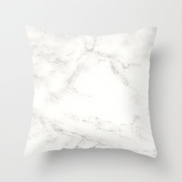 Marble by Hand Throw Pillow