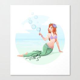 Festival Ariel Canvas Print