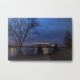 Hampton Coliseum I Metal Print
