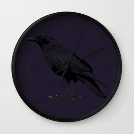Ronald Corvus Wall Clock