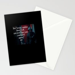 Serial Killer Stationery Cards