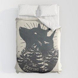 Craving wanderlust Comforters